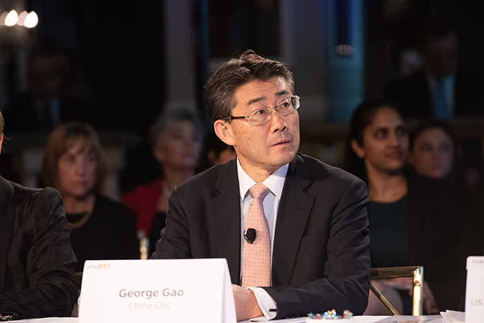 George Gao, China CDC Director, During Event 201